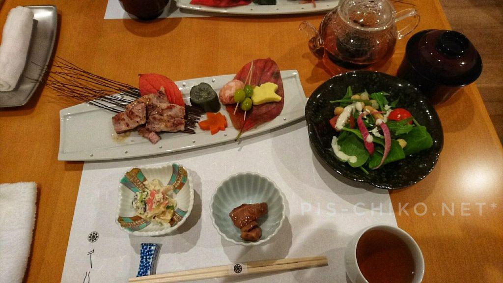 素敵なお料理(懐石料理)