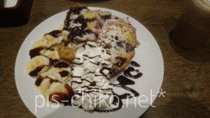 チョコバナナフレンチトースト